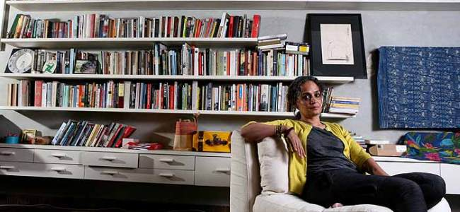 Language is my friend, fiction my first love: Arundhati Roy