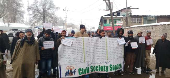 Sopore observe shutdown, remembers 1993 massacre victims