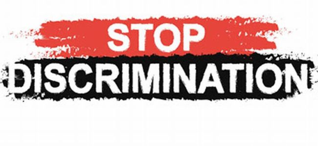 Stop Discrimination and avoid prejudice