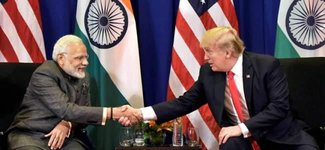 Modi-Trump hold talks; trade, defence, security on agenda