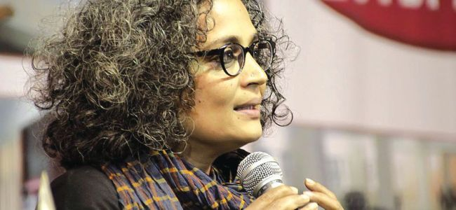 Kashmir story can't be told through HR reports, Journalistic accounts: Arundhati Roy