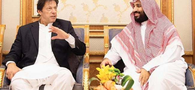 Saudi announces over 100 projects for Pak during Imran's visit