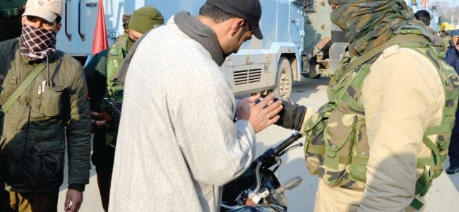 Security beefed up in Kulgam for today's polls