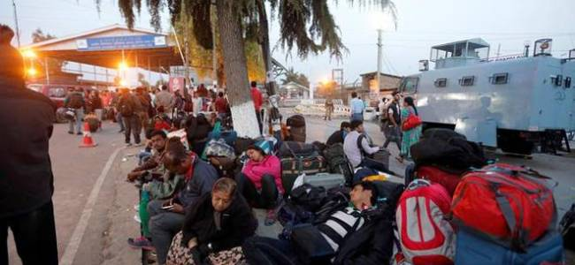 Laborers, students stranded in various cities demand evacuation