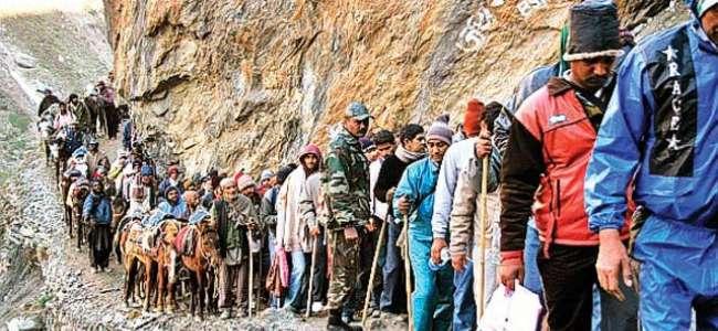 Online Registration for Amarnath Yatris commencing from 15th April: Govt