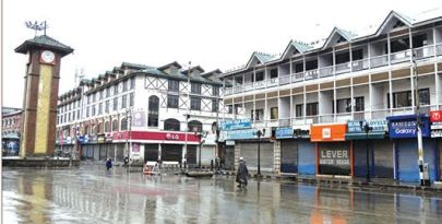 Valley shuts in protest against 'custodial killing'