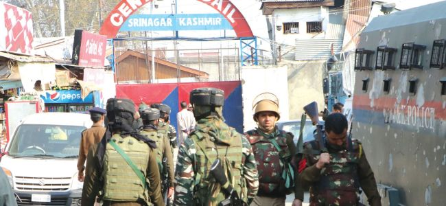 Two inmates injured as clashes break out in Srinagar Central Jail