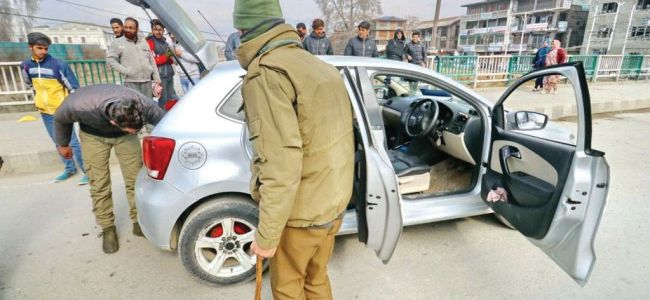 Police to seize vehicles used in militancy related incidents