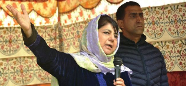 Not the constitution, BJP agenda being followed in India: Mehbooba