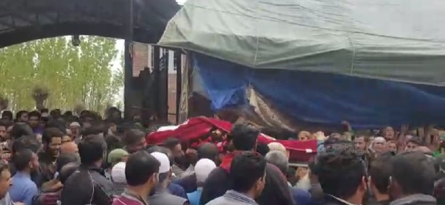 Amid sobs, tears body of MBBS student who died in Bangladesh reaches homes in Anantnag