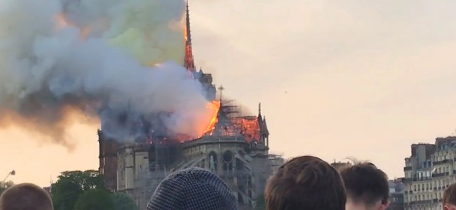 "UN Secretary General ""horrified"" at Notre-Dame Cathedral fire"