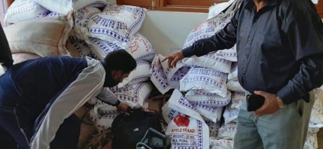 Residents in Ningli allege curtailment in rice quota