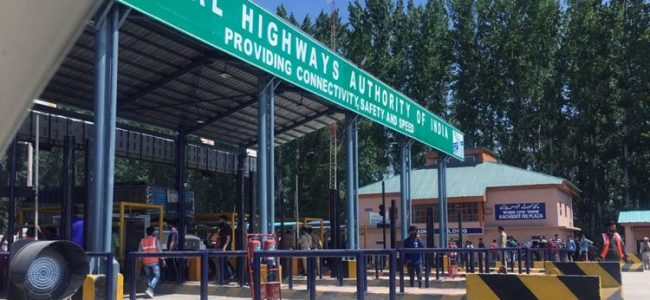 Toll tax row: Parts of south Kashmir observe shutdown, demand roll back