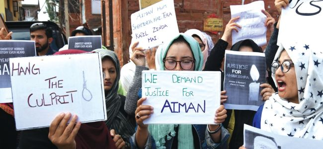 Outrage: Student protest continues against rape of a minor in Bandipora