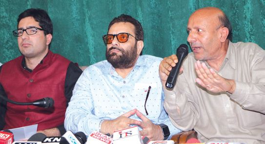 Run-up to assembly elections: JK gets first pre-poll alliance as Shah Feasal, Er Rasheed join hands