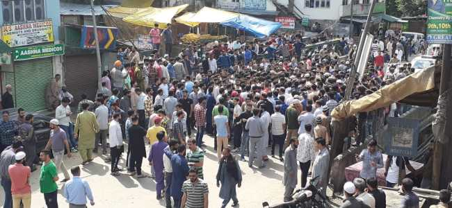 Protestors block highway in Banihal over 'missing' man