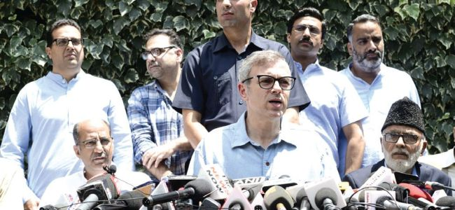 Guv negated move to change JK's special status: Omar