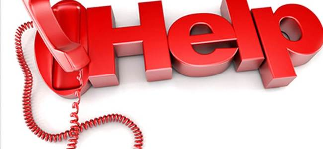 Govt lists phone numbers for people to request help