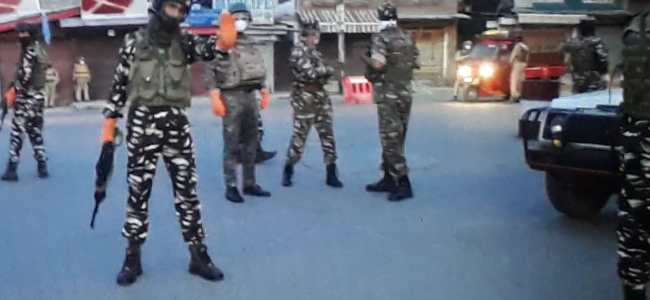 Gunfight breaks out in Srinagar
