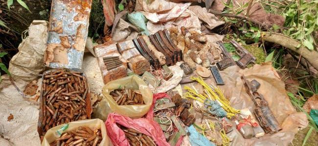 Grenade, 191 bullets recovered in Samba
