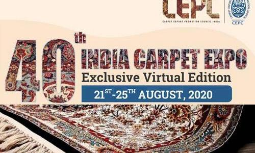 Virtual Buyer-Seller meet for carpet exports from Sept 29