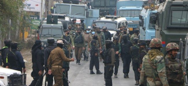 Encounter rages in Pulwama, no militant body visible yet: Police