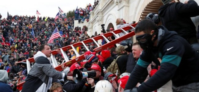 Democracy shamed: Chaos, violence, mockery as pro-Trump mob occupies Congress