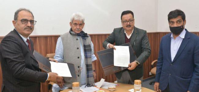 High Density Plantation: J&K Government signs MoU with NAFED