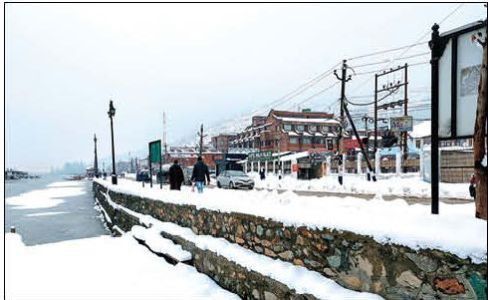 Cold conditions continue in Kashmir