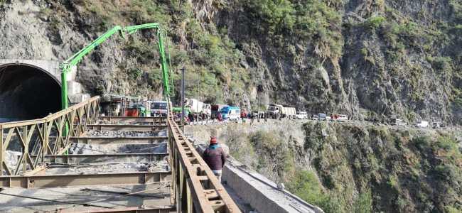 Bailey Bridge at Kela Morh will be ready within two days: BRO