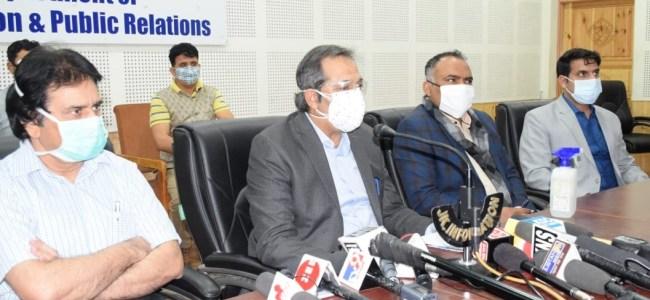 No shortage of medical-oxygen, drugs in J&K: Official