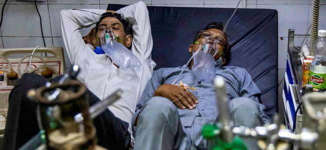 India witnesses record 3,46,786 COVID-19 cases, 2,624 deaths in a day