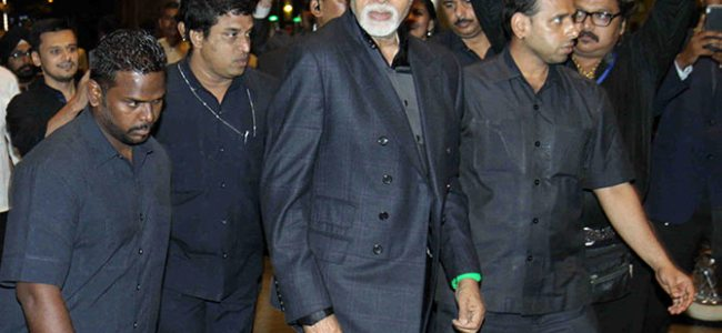 Amitabh Bachchan's police bodyguard transferred amid reports of 'Rs 1.5 crore annual income'