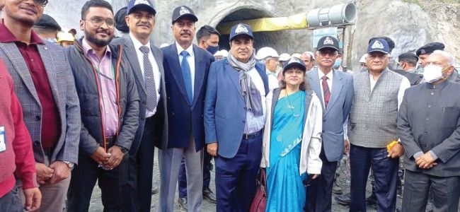 Extensive road network in the Himalayan region will help boost the tourism sector: Nitin Gadkari