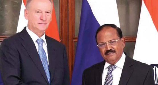Afghan crisis: Jaishankar, NSA Doval meet top Russian security official