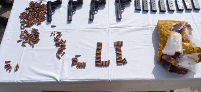 Weapon smuggling bid foiled in Samba: BSF
