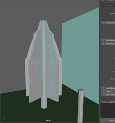 step4- sub divide to add more detail