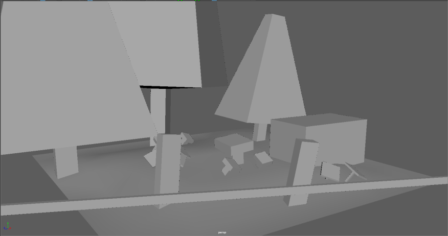 Sample scene blockouts 9