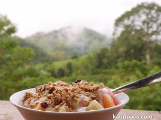 Śniadanie z widokiem.