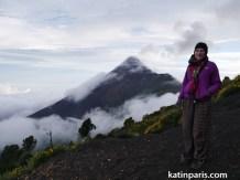 Szczyt wulkanu Acatenango