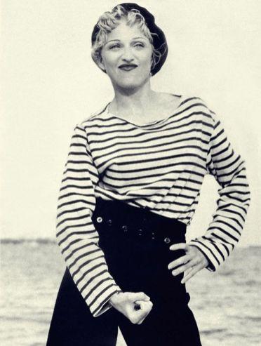 Madonna w marinière