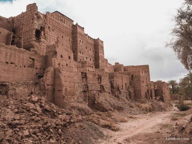Kasbah w Maroko