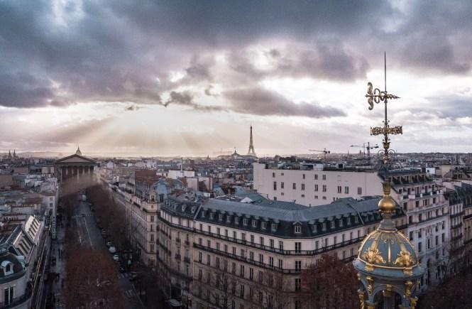 Haussmann architektura Paryza
