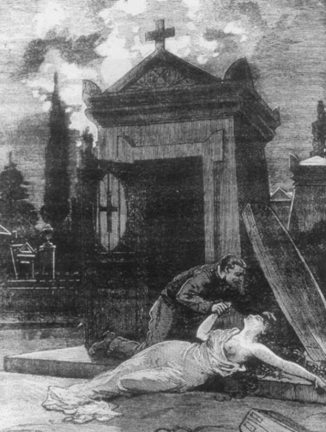paryz wampir cmentarz montparnasse francja