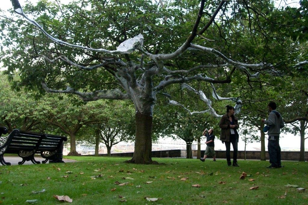 Metamorphosis: Cocoon, 2012, Park in Progress (PIP), WEYA, Nottingham, UK