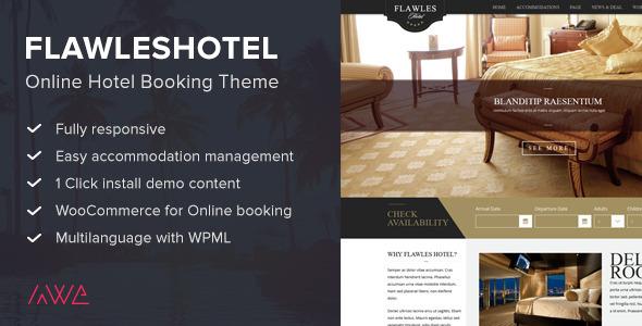 szablon dla hotelu
