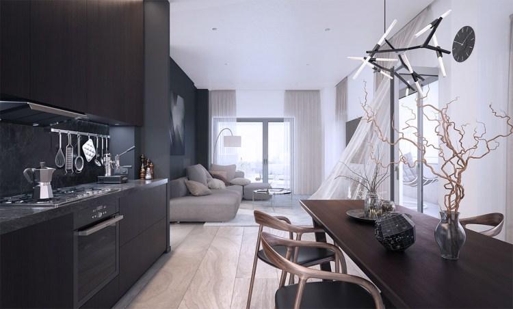 Wizualizacja 5-pokojowego mieszkania na II etapie osiedla Primo