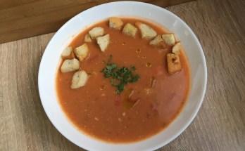 , Chłodnik z pomidorów