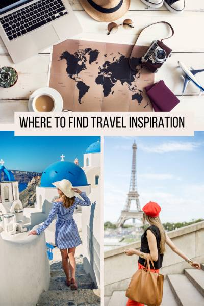 There are many ways to find travel inspiration. Here are some of my fave ones.