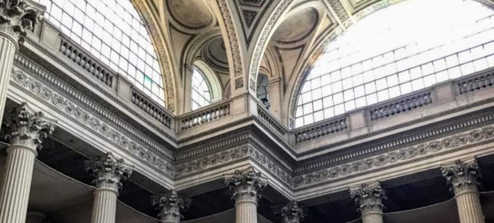 inside the pantheon paris